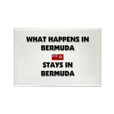 What Happens In BERMUDA Stays There Rectangle Magn