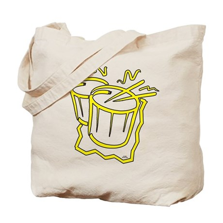 Snare Drums Tote Bag