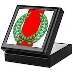 MK laurel Keepsake Box