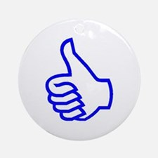 Thumb's Up Ornament (Round)