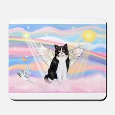 Clouds / (B&W) Cat Mousepad