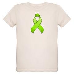 Lime Awareness Ribbon T-Shirt