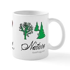 oddFrogg Peace Love Nature Mug