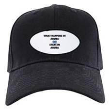 What Happens In ARUBA Stays There Baseball Hat