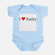 I Love Kathy Infant Creeper