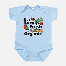 Buy Local Fresh & Organic Infant Bodysuit