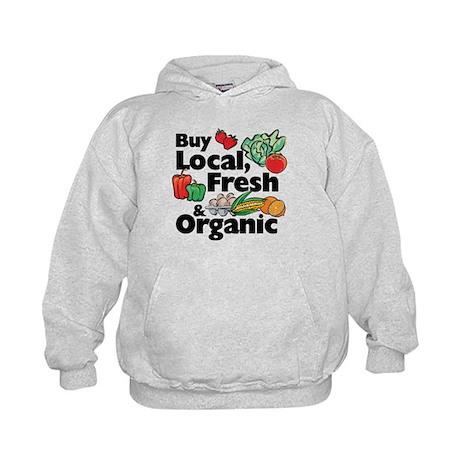 Buy Local Fresh & Organic Kids Hoodie