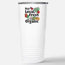 Buy Local Fresh & Organic Travel Mug