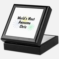 Personalized Chris Keepsake Box