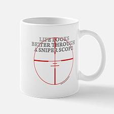 Life Through a Sniper Scope Mug
