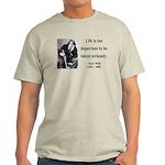 Oscar Wilde 17 Light T-Shirt