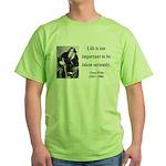 Oscar Wilde 17 Green T-Shirt