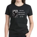 Oscar Wilde 17 Women's Dark T-Shirt