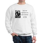 Oscar Wilde 17 Sweatshirt