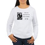 Oscar Wilde 17 Women's Long Sleeve T-Shirt