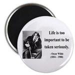 Oscar Wilde 17 Magnet