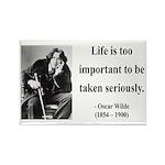 Oscar Wilde 17 Rectangle Magnet (100 pack)