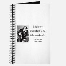 Oscar Wilde 17 Journal