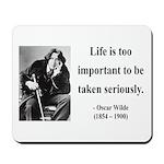 Oscar Wilde 17 Mousepad
