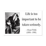 Oscar Wilde 17 Mini Poster Print