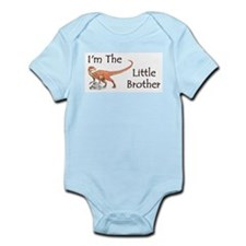 Dinosaur I'm the little brother Infant Bodysuit