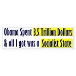 Socialist State Bumper Sticker