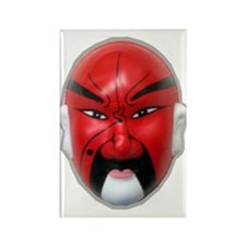 Chinese Opera Mask #2 Rectangle Magnet (100 pack)