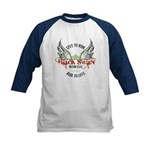 Twilight Black Swan Kids Baseball Jersey