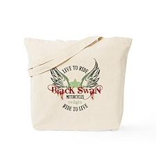 Twilight Black Swan Tote Bag