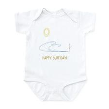 Happy Surf-Day! Infant Bodysuit