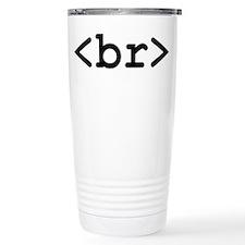 HTML Coffee break - Travel Coffee Mug