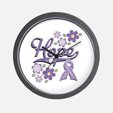 Hope Alzheimer's Wall Clock