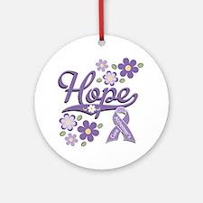 Hope Alzheimer's Ornament (Round)
