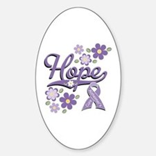 Hope Alzheimer's Oval Decal