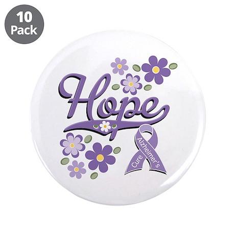 """Hope Alzheimer's 3.5"""" Button (10 pack)"""