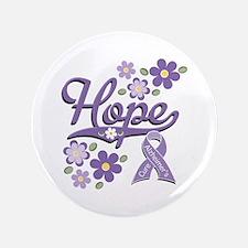 "Hope Alzheimers 3.5"" Button (100 pack)"