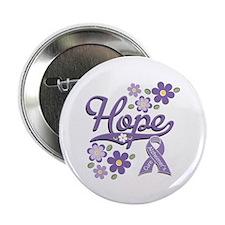 """Hope Alzheimer's 2.25"""" Button (100 pack)"""