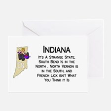 French Lick Indiana Greeting Card
