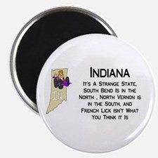"""French Lick Indiana 2.25"""" Magnet (100 pack)"""