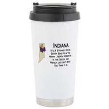 French Lick Indiana Travel Mug