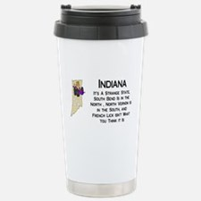 French Lick Indiana Travel Mug