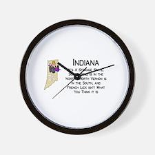 French Lick Indiana Wall Clock