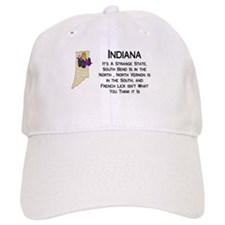 French Lick Indiana Baseball Cap