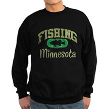 FISHING MINNESOTA Sweatshirt