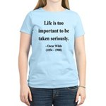 Oscar Wilde 17 Women's Light T-Shirt