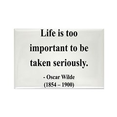 Oscar Wilde 17 Rectangle Magnet (10 pack)