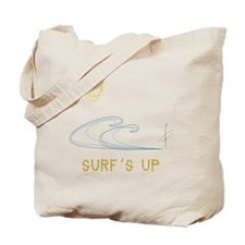 Sunny Day Surf's Up Tote Bag