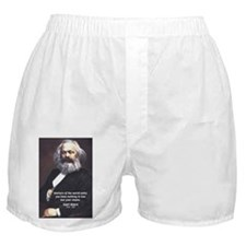 Union of Workers: Marx Boxer Shorts
