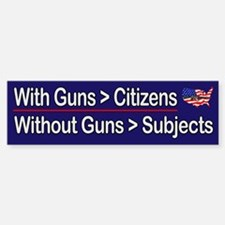Guns = Citizens
