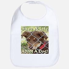 Adopt A Dog! Bib